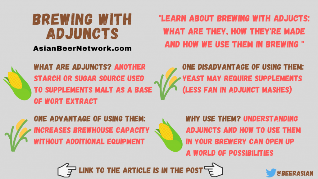 Brewing with Adjuncts – What, How, Pros and Cons